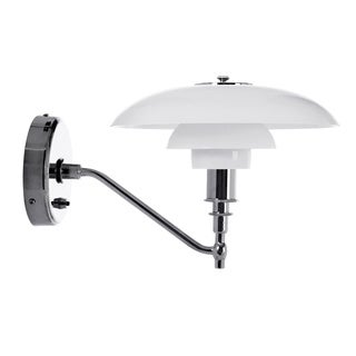 Hans Andersen Home Herlev White/Silver Wall Sconce