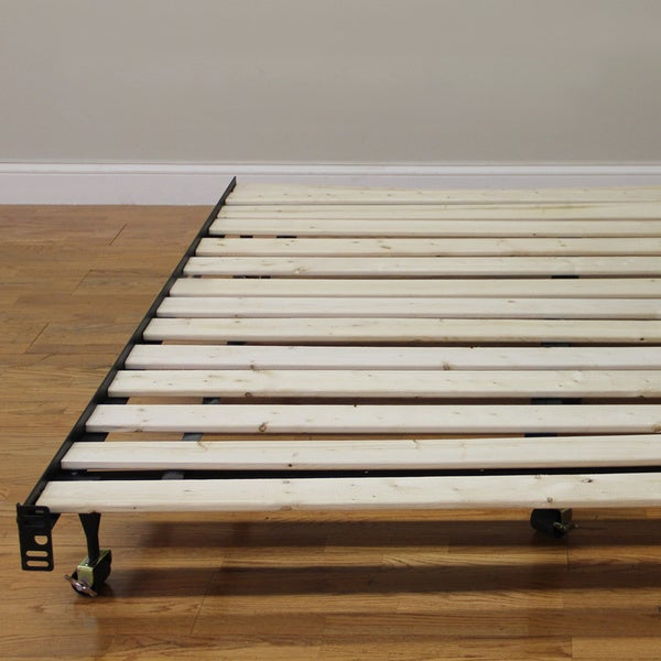 postureloft bunkie board solid wood slat bed support system free shipping today