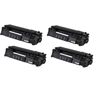 Replacing Q5949A 49A Black Laser Toner Cartridge for HP LaserJet 1160 1320 1320n 3390 3392 Printers (Pack of 4)