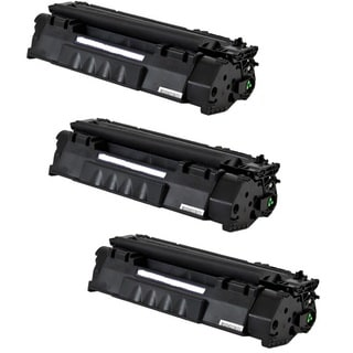 Replacing Q5949A 49A Black Laser Toner Cartridge for HP LaserJet 1160 1320 1320n 3390 3392 Printers (Pack of 3)