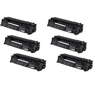 Q755A 53A Toner Cartridge for HP LaserJet M2727 MFP M2727NF P2010 P2014 P2015 P2015D P2015N P2015DN P2015X Printers (Pack of 6)