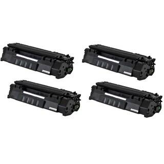 Q755A 53A Toner Cartridge for HP LaserJet M2727 MFP M2727NF P2010 P2014 P2015 P2015D P2015N P2015DN P2015X Printers (Pack of 4)