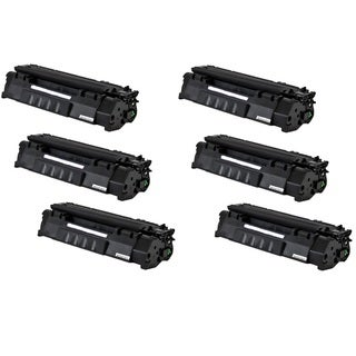 Replacing Q5949A 49A Black Laser Toner Cartridge for HP LaserJet 1160 1320 1320n 3390 3392 Printers (Pack of 6)