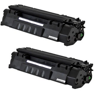 Replacing Q5949A 49A Black Laser Toner Cartridge for HP LaserJet 1160 1320 1320n 3390 3392 Printers (Pack of 2)