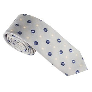 Elie Balleh Milano Italy Geometric Embroidered Neck Tie|https://ak1.ostkcdn.com/images/products/10227824/P17348686.jpg?impolicy=medium