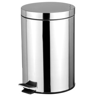 Stainless Steel 5 LIter Waste Bin with Hands Free Lid