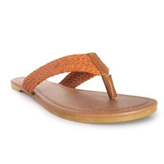 Olivia Miller 'Brady' Braided Sandals