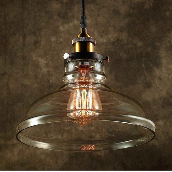 Esmie 1 Light Adjustable Height Edison Lamp With Bulb