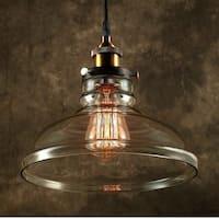 Esmie 1-light Adjustable Height Edison Lamp with Bulb