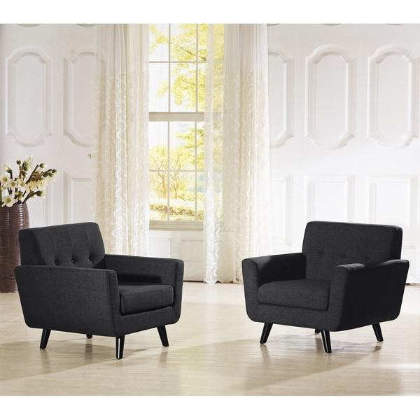 Shop Baxton Studio Novak Contemporary Grey Linen