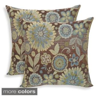 Rosita Woven Jacquard 20-inch Toss Pillow (Set of 2)