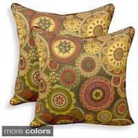 Scarlett Woven Jacquard 20-inch Toss Pillow (Set of 2)