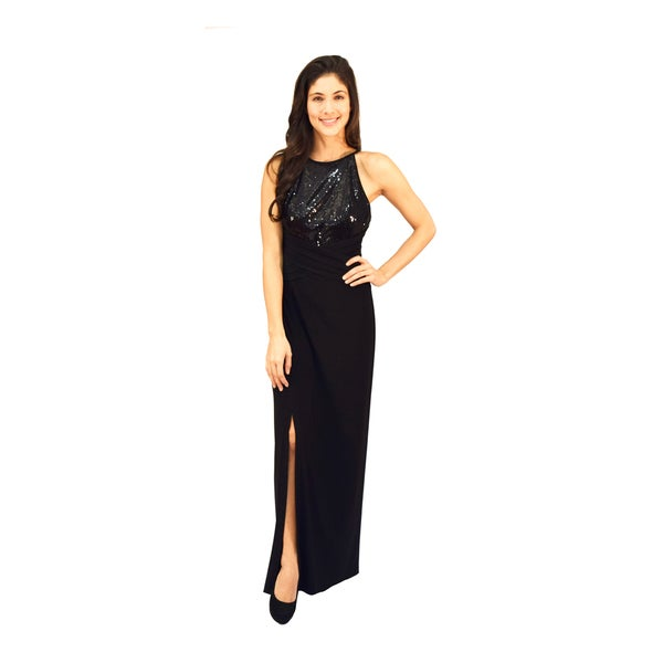 Shop R&M Richards Popover Beaded Evening Gown - Free Shipping Today ...