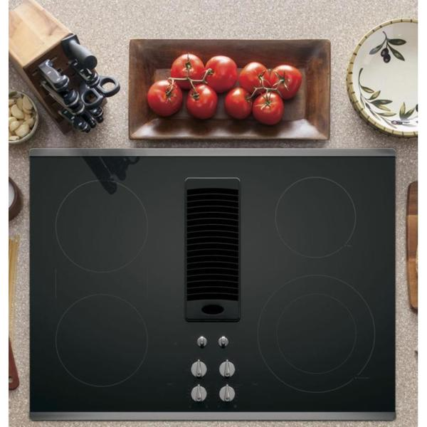 Ge Profile 30 Inch Downdraft Electric Cooktop Free