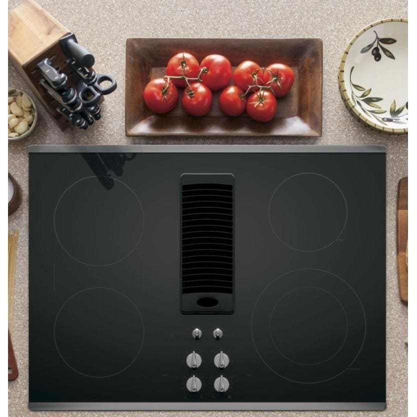 GE Profile 30-inch Downdraft Electric Cooktop (30-inch Do...