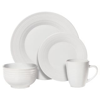 Pfaltzgraff Everyday Sierra White 16-piece Dinnerware Set