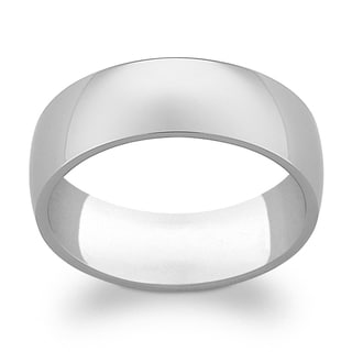 Titanium 7mm Wide Wedding Band