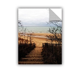 ArtWall Kevin Calkins ' To The Beach ' Artappealz Removable Wall Art