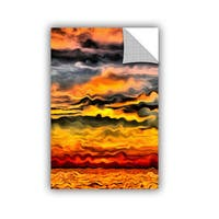 ArtWall Kevin Calkins ' Surreal Sunset ' Artappealz Removable Wall Art