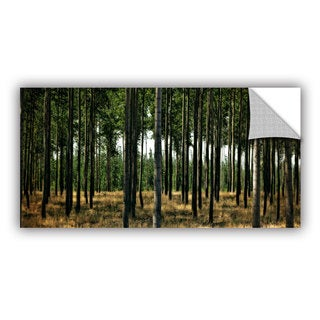 ArtWall Kevin Calkins ' Standing Trees' Artappealz Removable Wall Art
