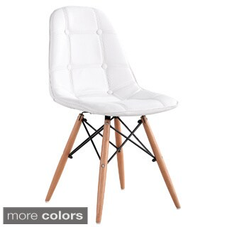 Modern Chair with Beechwood Legs and Linen Cover