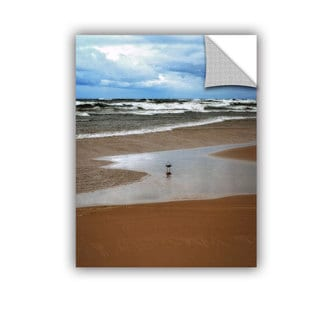 ArtWall Kevin Calkins ' Lone Gull' Artappealz Removable Wall Art