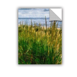 ArtWall Kevin Calkins ' Dune Grass In The Sunshine' Artappealz Removable Wall Art