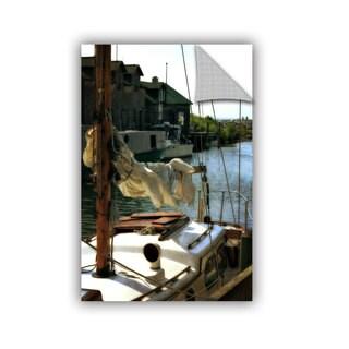 ArtWall Kevin Calkins ' Docked' Artappealz Removable Wall Art