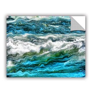 ArtWall Kevin Calkins ' Cresting Waves 3.0' Artappealz Removable Wall Art