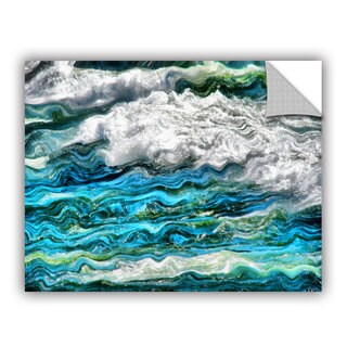 ArtWall Kevin Calkins ' Cresting Waves 2.0' Artappealz Removable Wall Art