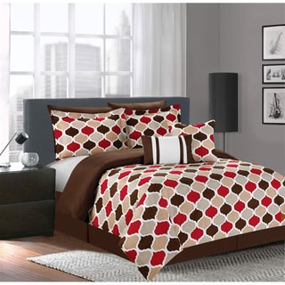 Delta Red 7-piece Comforter Set