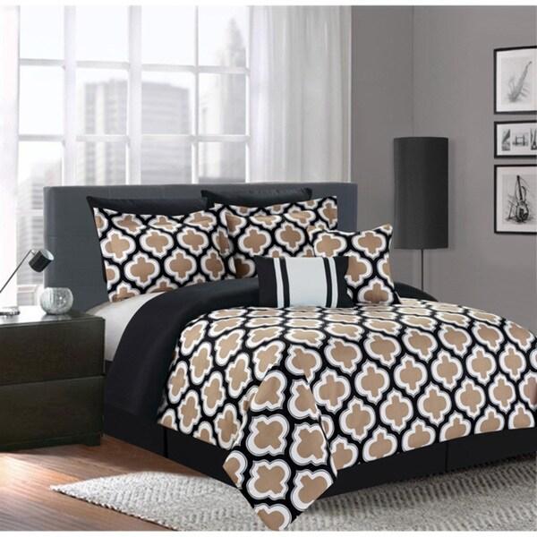 Greengate Taupe 7-piece Comforter Set