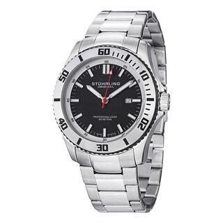 Stuhrling Original Men's Bermuda Swiss Quartz Stainless Steel Bracelet Watch