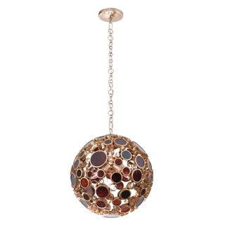 Varaluz Fascination 3-light Orb Pendant, Kolorado