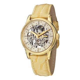 Stuhrling Original Women's Stella Automatic Austrian Crystal Leather Strap Watch|https://ak1.ostkcdn.com/images/products/10230384/P17351275.jpg?impolicy=medium