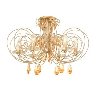 Varaluz Elysse 6-light Semi-flush