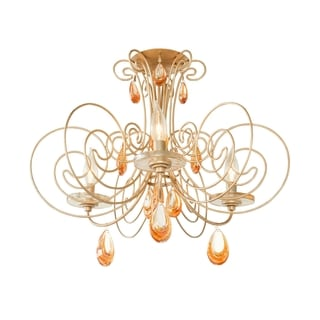 Varaluz Elysse 3-light Semi-flush