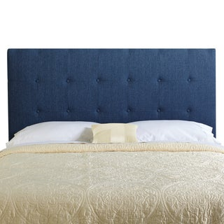 Humble + Haute Stratton River Blue Upholstered Tufted Headboard