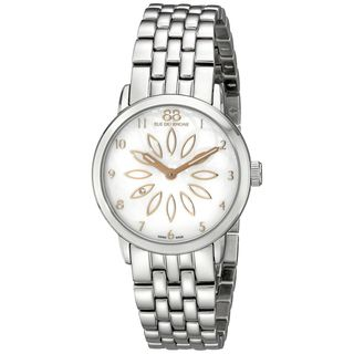 Rue Du Rhone Women's 87WA140007 'Double 8' Silver Stainless steel Watch