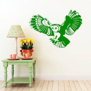 Flying Owl Vinyl Wall Art