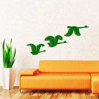 Flying Ducks Vinyl Sticker Wall Art