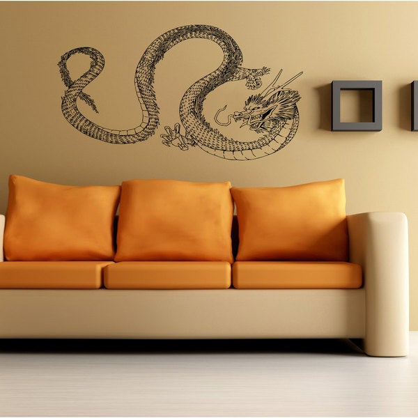 Dragon Vinyl Sticker Wall Art