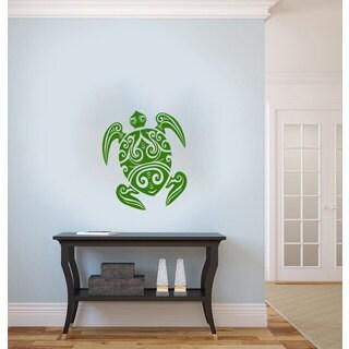 Sea Turtle Vinyl Sticker Wall Art