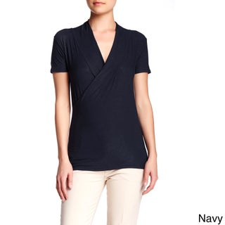 Women's Rayon Jersey Crossover Tops - (More options available)