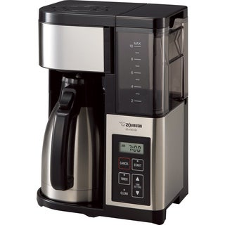 Zojirushi EC-YSC100-XB Fresh Brew Plus Thermal Carafe Coffee Maker, 10-Cups (Stainless Steel/Black)