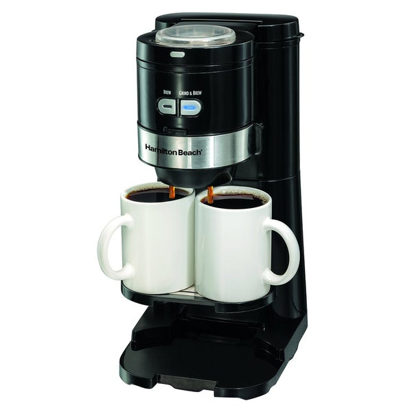 Coffee Maker Grind And Brew Single Serve : Hamilton Beach Coffee Maker, Grind and Brew Single Serve, Black (49989) - Free Shipping Today ...