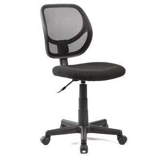idee Mesh Task Chair, Black, MLC01B