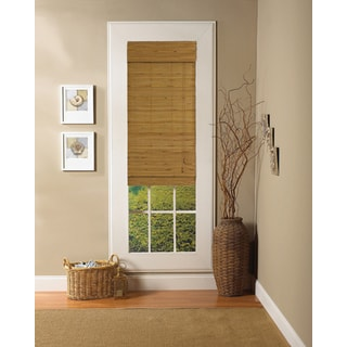 Lewis Hyman Capri Collection Bamboo Roman Shade in Natural Finish