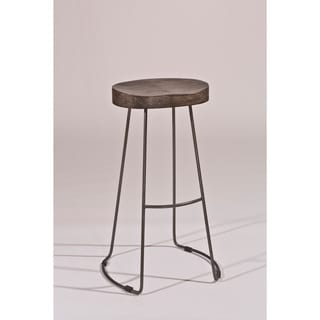 Montero Copper Finish Swivel Stool