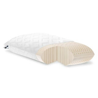 Z by Malouf Natural Talalay Latex Zoned Pillow (More options available)